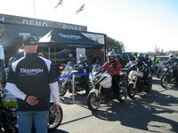 Triumph Demo Rides At TWO Motorcycle Resort