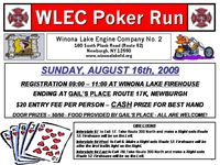Winona Lake Fire Department Poker Run
