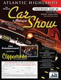 Atlantic Highlands Car and Motorcycle Show