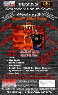 Houston COC Meeting And Benefit After Party For Bandido TK 1