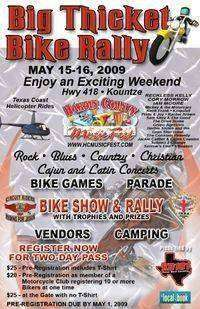 Big Thicket Bike Rally