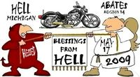 Blessings From Hell Bike Bessiing