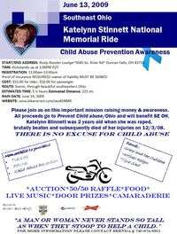 Se Ohio Katelynn Stinnett National Memorial Ride