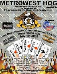 Metrowest Hogs Draw Poker Run - 5th Annual