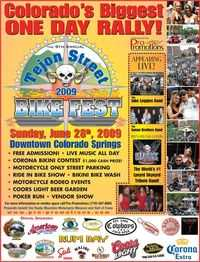 Tejon Street Bike Fest - 9th Annual
