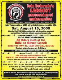 PowMia Recognition Ride - 22nd Anniversary