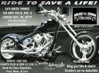 Ride To Save A Life