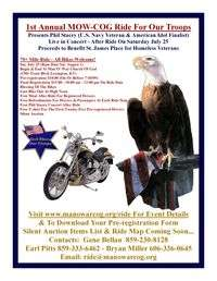 Mow Cog Ride For Our Troops