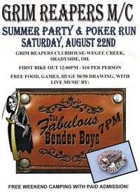 Grim Reapers MC Summer Party and Poker Run