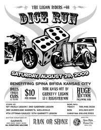 Legion Riders Dice Run For Spina Bifida