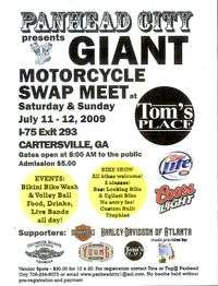 GA Motorcycle Swap Meet