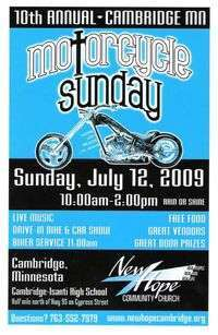 Cambridge Motorcycle Sunday - 10th Annual