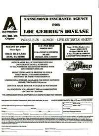 Poker Run For Lou Gehrigs Disease