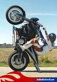 Motorcycle Stunts At High Country