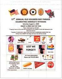 Old Soldoers Day Parade - 57th Annual