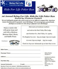 Ride For Life Poker Run 2009-09-27