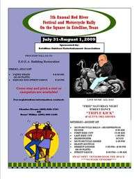 Red River Festival And Motorcycle Rally - 7th Annual