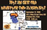 Boys and Girls Club Motorcycle Show At Peach Days