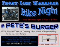 Front Line Warrior Bike Night