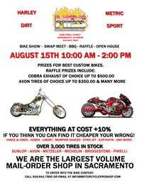 Motorcycle Pro Shop Open House