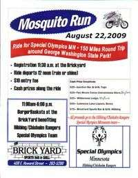 Mosquito Run Ride For Special Olympics