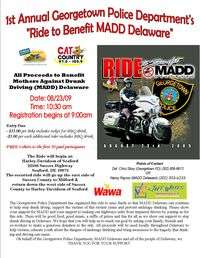 Ride To Benefit Madd Delaware