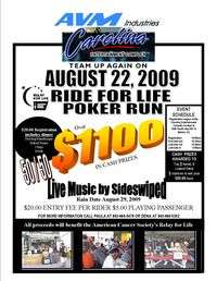 American Cancer Society Ride For Life Poker Run