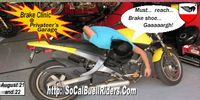 Socal Buell Riders Brake Clinic