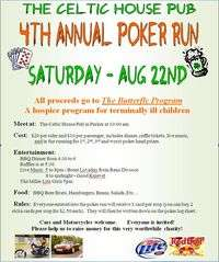 Celtic House Pub Charity Poker Run