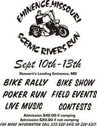 Eminence Missouri Scenic Rivers Run