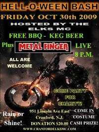 Cranford Elks Mc Hell O Ween Bash