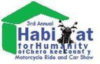 Habitat For Humanity Motorcycle Ride And Car Show - 3rd Annual