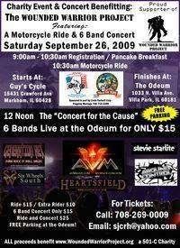 Motorcycle Ride and Concert Benefiting Wounded Warrior Project