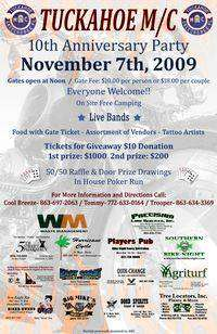 Tuckahoe MC Party - 10th Anniversary