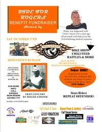 Ride For Rogers Benefit Fundraiser