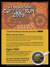 Starbucks Coffee Run For Mda