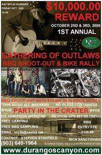 Gathering Of Outlaws Bbq Shootout and Bike Rally