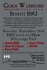 Gods Warriors Mc Benefit Bbq