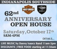 Indianapolis Southside Harley Davidson Open House - 62nd Anniversary