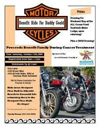Benefit Ride For Buddy Gould