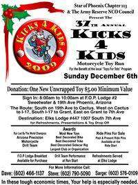 Kicks 4 Kids Toy Run
