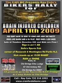 Ray Colas Bikers Rally For Brain Injured Children