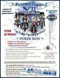 Frosty Balls Poker Run - 7th Annual