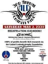 Ald Charity Ride - 3rd Annual