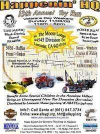 Happenin Hq Toy Run - 13th Annual