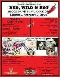Red Hot And Wild Blood Drive And Chili Cook Off