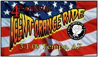 Agent Orange Ride - 4th Annual