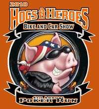 Hogs And Heroes Bike Car Show And Poker Run