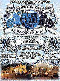 Brians Harley Davidson Mda Black and Blue Ball - 3rd Annual