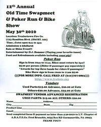Old Time Swapmeet and Piker Run and Bike Show - 12th Annual